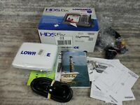 BRAND NEW! Lowrance HDS-5x Fishfinder Depthfinder With Transducer