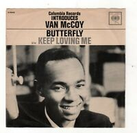 SOUL-VAN McCOY-BUTTERFLY/KEEP LOVING ME-W/PROMO ONLY PICTURE SLEEVE