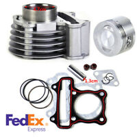 US Stock 47mm Big Bore Cylinder Piston Rings Kit For GY6 50cc-80cc 4 Strokes ATV