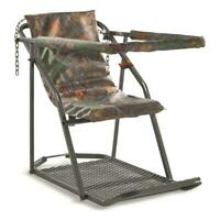 Tree Stand Extreme Comfort Hang On Deer Hog Hunting Durable Steel Construction