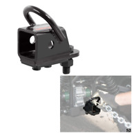 CURT 45006 Bolt-On 2-Inch ATV Trailer Hitch Receiver Adapter, Free Shipping