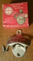 VINTAGE COCA-COLA WALL MOUNT BOTTLE OPENER STARR X -  # 28 MADE IN USA W BOX