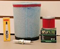 LTZ400 Tune Up Kit NGK Spark Plug Oil Filter Air Filter LTZ 400 KFX400 z400 DVX