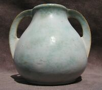 Vintage Burley Winter Art Pottery Double Handled Vase