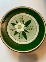 """Stangl Star Flower - four 8"""" Luncheon Plates - Vintage 1952"""