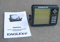 EAGLE OPTIMA DEPTH FINDER FISH FINDER Head Unit Only