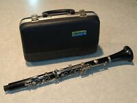 ARTLEY Vintage Clarinet with Hard Carrying Case Band Musical Instrument