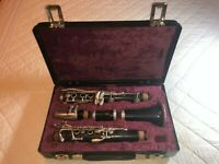 Amati Kraslice Student Clarinet ACL 201, used, in a great shape