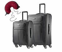 Samsonite Leverage LTE Set of 20-inch and 25 inch Spinner Upright