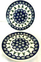 Set of 2 Boleslawiec Polish Pottery 7 3/4