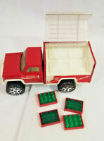 Coca Cola Buddy L #5217 Vintage toy Delivery Truck plastic model w/ coke bottles