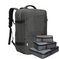 44L Carry-On Luggage Backpack Flight Approved Compression Luggage Packing Cubes