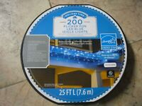 New ! Holiday time 200 Counts Slow Shimmering Blue LED Icicle Lights White Wire