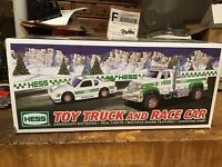 Hess Toy Truck and Race Car 2011 New in Box