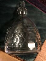 Baccarat Crystal Decanter Signed. Very Unusual.