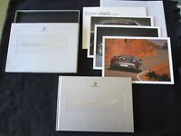 2004 2005 Porsche Carrera GT SEALED Brochure Book Box & Hardcover Sales Catalog