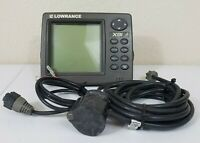 Lowrance X91 Sonar Fish Finder Head Unit Power Transducer PD-WDXT Wide Angle