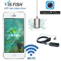 V4 HD 1080P WIFI Wireless Video Fish Finder camera System 140 Degree Lens underw