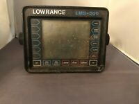 LOWRANCE LMS-200 FISH FINDER VINTAGE FOR PARTS OR REPAIR