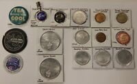 Advertising Pins/Tokens/Pencil Clip-Pepsi / Coke / Subway / DQ / Country Kitchen