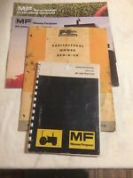 4 Vintage Massey Ferguson Tractor And Farm Machine Manuals, 30B, AEO-A-20