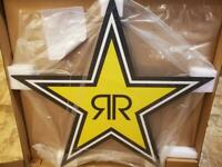 NEW ROCKSTAR ENERGY DRINK LED SIGN 48.5