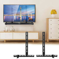 Universal Sound Bar Bracket Under TV Wall Mount Smart TV Stand Speaker fr 32 80quot; $25.93