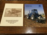 Ford Versatile Tractor Literature And Book