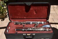 BUFFET CRAMPON 1180 MODEL BASS CLARINET W/EXTRAS