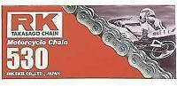 RK M530 Pitch Motorcycle ATV Natural Non O-Ring Chain X 118 LINKS 530 M530-118