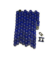 Blue 520x108 O-Ring Drive Chain ATV Motorcycle MX 520 Pitch 108 Links