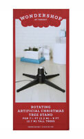 NEW~Target WONDERSHOP~Rotating Artificial Christmas Tree Stand~Rotating Stand