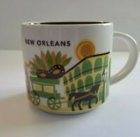 STARBUCKS NEW ORLEANS PORCELAIN CERAMIC COFFEE MUG