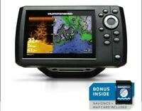 HUMMINBIRD HELIX 5 DI G2 CHIRP GPS COMBO  BUNDLE WITH NAVIONICS MAPPING SYSTEM