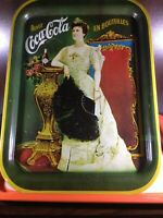 Coca Cola Vintage Tray Made in the USA 1968 Lillian Russel 1904 French Canadian