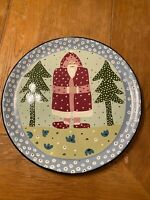 """Droll Designs The Essex Collection Round Plate 12"""" Hand Painted  EUC  D17"""