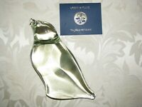 Lg.  ORIENT and FLUME MAJESTIC BIRD OF PREY PAPERWEIGHT: Signed, 5.75