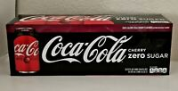 Coca Cola Zero Cherry Soda Coke 12oz 12 Cans *FREE SHIPPING*