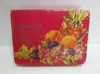 SCHRAFFT#x27;S CHOCOLATES VINTAGE EMPTY CANDY BOX ALL FRUIT AND NUT ASSORTMENT