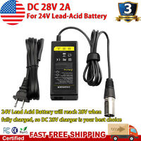 24V 2A Battery Charger for Electric Pride Mobility Wheelchair Scooter Skip Bike