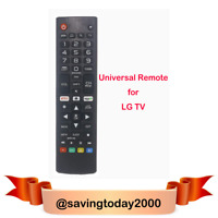 Universal LG TV Replacement Remote Control $8.99