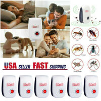 6Pack Ultrasonic Pest Reject Home Control Electronic Repellent Mice Rat Repeller $12.48