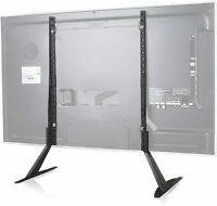 WALI TVS001 Universal TV Stand Table Top for Most 22 to 65 inch LCD Flat Screen $47.99