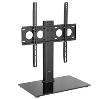 VIVO Black Universal TV Stand for 32 to 50 inch LCD LED Flat Screens Tabletop $38.18