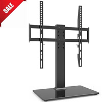 Universal TV Stand Base Table Top Bracket Mount Height Adjustable for 27 55 Inch $34.89