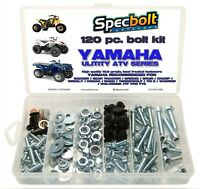 120pc bolt kit Yamaha util ATV Wolverine Warrior Grizzly Rhino Kodiak Timberwolf