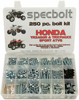250pc Bolt kit Honda TRX450R ATV Body Plastics Fenders Frame Motor TRX450 700xx