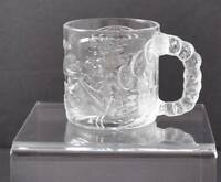 Vintage Clear Glass McDonald's Two-Face Mug Cup Batman Forever 1995 France Y26