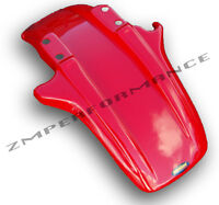 NEW MAIER HONDA ATC250R 85 - 86 PLASTIC FIGHTING RED FRONT FENDER