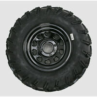 HONDA  ATV MUDLITE TIRES 25 INCH  12 INCH BLACK  WHEELS